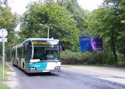 Bus, Fähre und Stadtbahnen