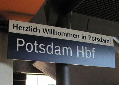 Anreise nach Potsdam